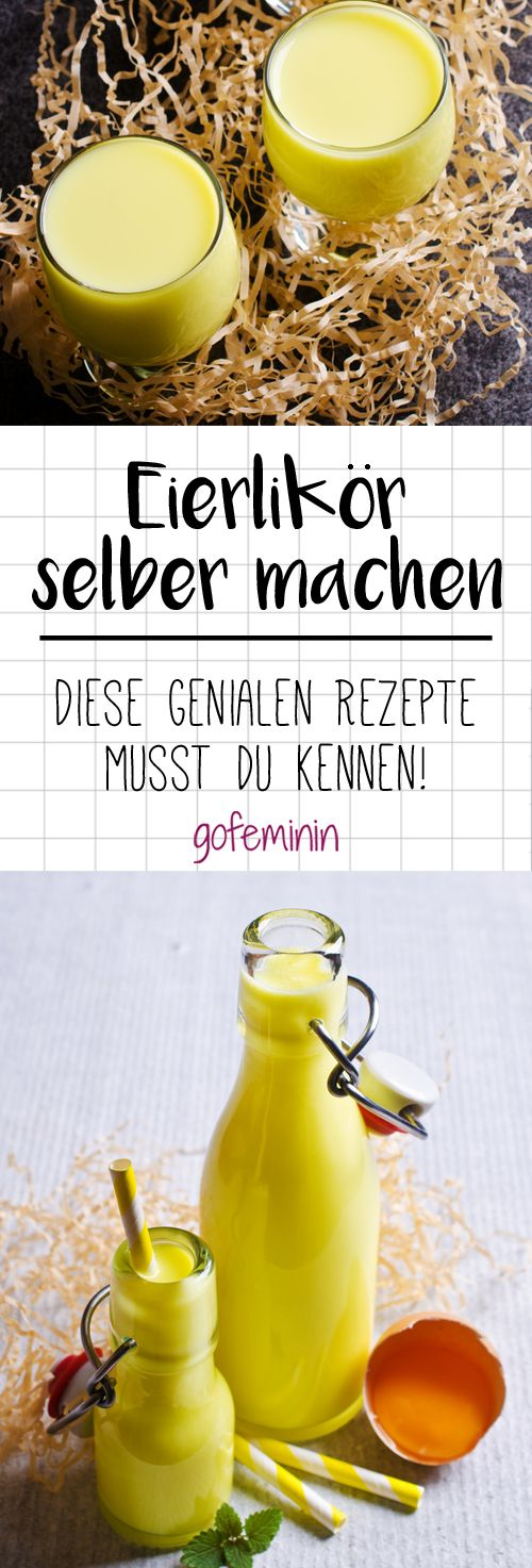 Ingeniously simple: That's how you make creamy eggnog yourself!  – Oster-Rezepte // herzhaft & süß