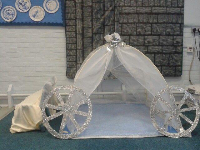 Cinderellas coach role play area