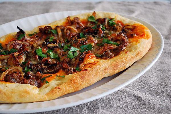 Sausage & Caramelized Onion Flatbread
