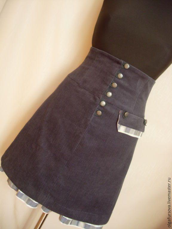 как сшить из кусочков ткани юбку