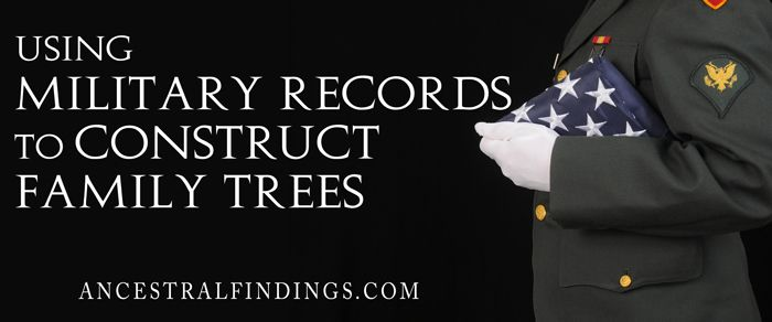 Military records can be excellent sources for breaking down genealogy brick walls. Here's how to find and use military records to solve genealogy mysteries... Read More:  http://www.ancestralfindings.com/using-military-records-to-construct-family-trees/