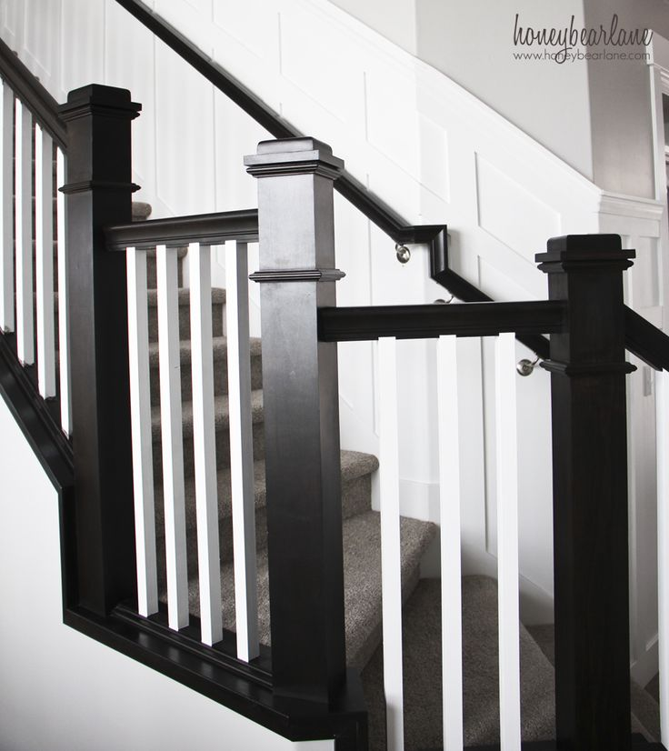Want white stair balusters? You have to read these tips for painting stair balusters first!
