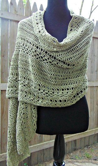 Milan Summer Wrap - Free Crochet Pattern