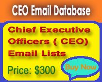 Latest Database gives you some special databases like CEO email database.