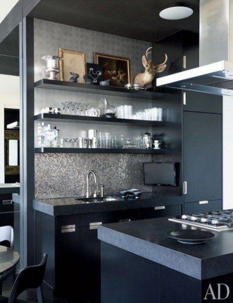 63 best masculine kitchen designs images on pinterest | home decor