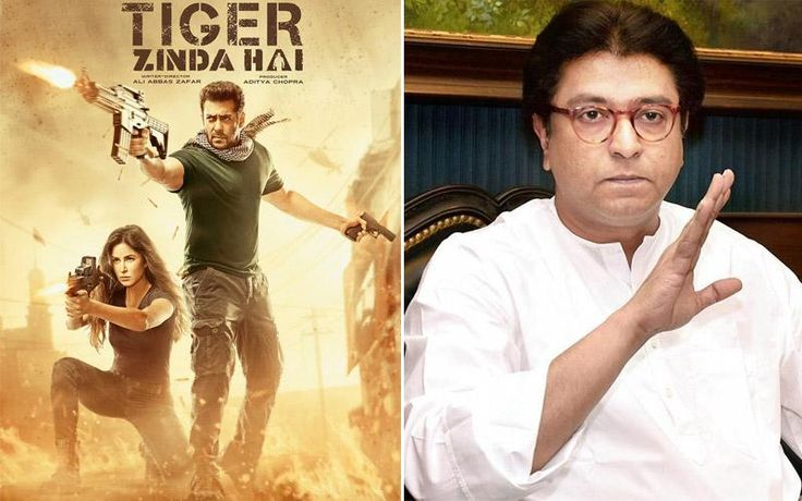 After Sanjay Leela Bhansali's 'Padmavati', Salman Khan's 'Tiger Zinda Hai' is now in the radar of controversies. Though Salman's film is not postponed or completely pulled out of the theatres, it has something to do with political party, MNS (Maharashtra...