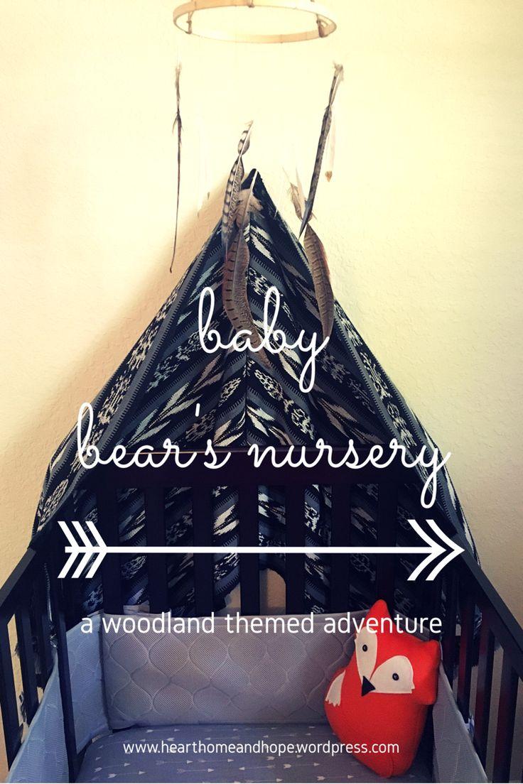 Enjoy this woodland, boho nursery tour!
