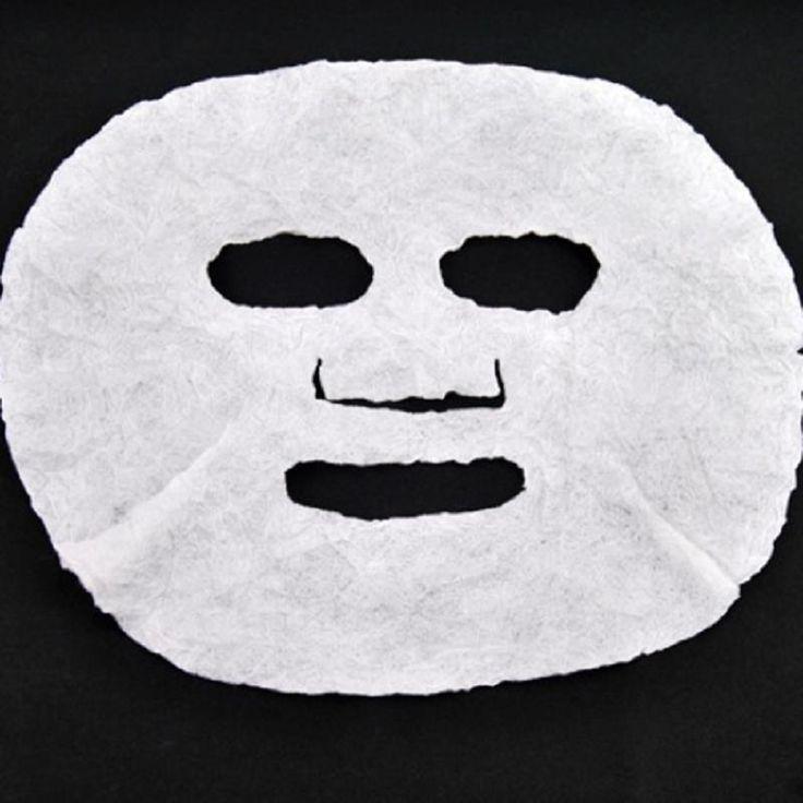 1 Stks Vocht Cosmetica DIY Compressed Sheet Masker Essentie Huidverzorging Neus Strips Comedondrukker Pilaten Olie-control Gezicht