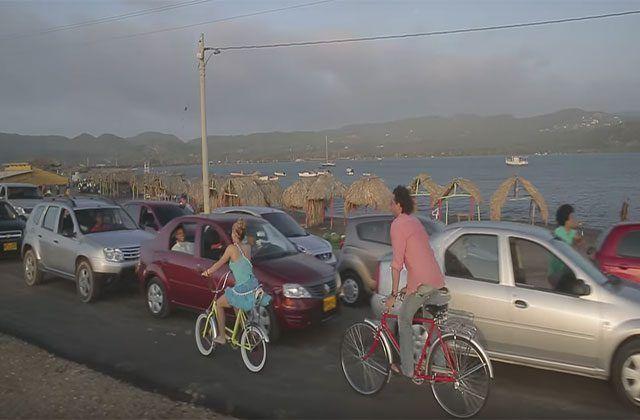 La bicicleta de Shakira y Carlos Vives ya comenzó a rodar