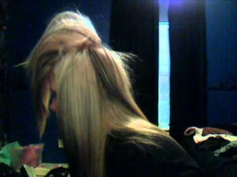 Big Texas Hair Tutorial. Lame music but a good tutorial