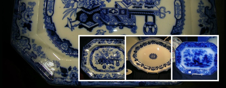 Large platters c.1840-1910