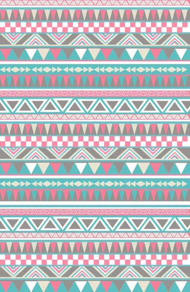 Pattern Aztec Tribal Stripe  by Pixie Sticks