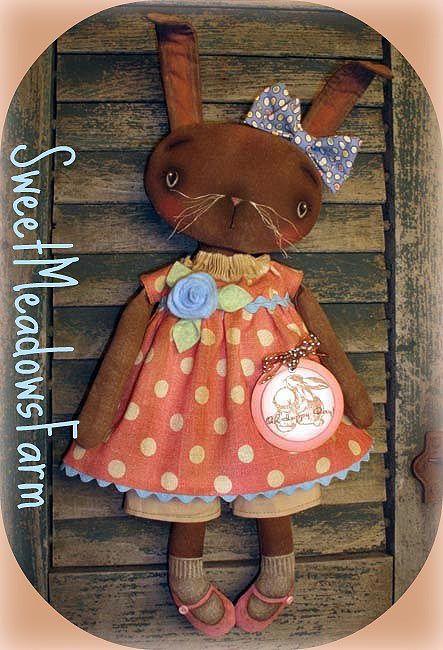 SweetMeadowsFarmHappenings: Polka Dot Bunny