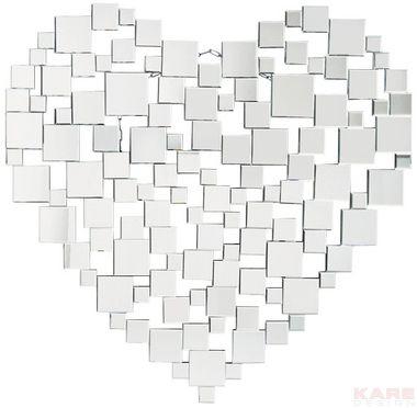 Mirror Heart 122x120cm
