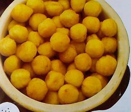 Smażone kulki ziemniaczane