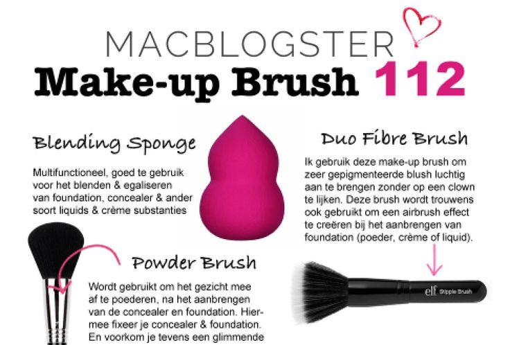 Make-up Brush 112: waar gebruik je deze make-up kwasten voor?
