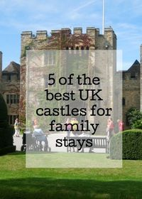 if you'd like to stay in a real castle, there are various places across the UK where you can do just that. From luxurious hotels to family-friendly hostels, here are some of the best UK castles where you can stay with your family. Click through for full d