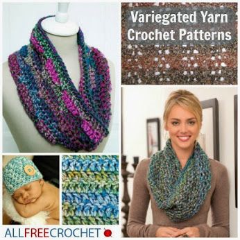 Crochet Scarf Pattern With Self Striping Yarn : Pinterest The world s catalog of ideas