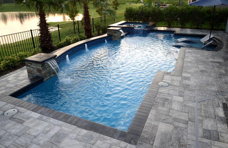 A Concrete Tank Plunge Pool Swimming Pool Prices Pools Backyard Inground Backyard Pool Landscaping