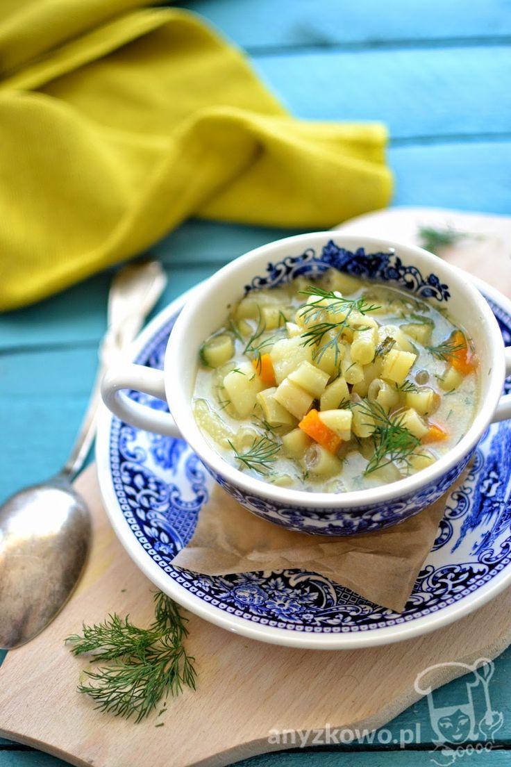 Anyżkowo: Zupa z fasolki szparagowej