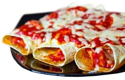 Le enchiladas sono un piatto tipico messicano. In pratica sono delle tortillas di mais arrotolate su se stesse e farcite con diversi ingredienti