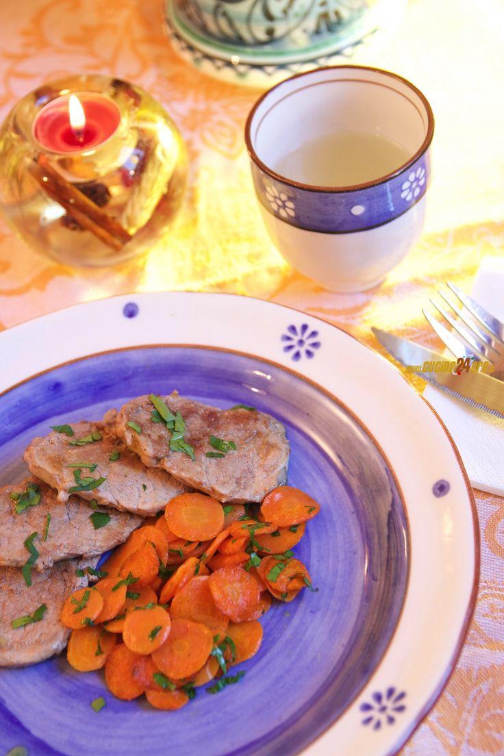 lonzino con carote e prezzemolo