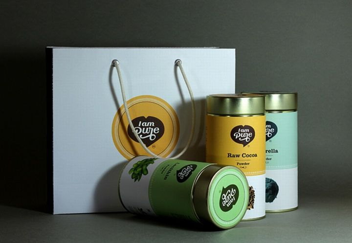 I am Pure Logo Packaging by Anoop V Chalil