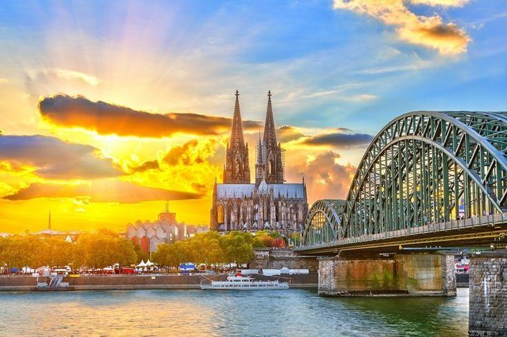 La cathédrale de Cologne en Allemagne