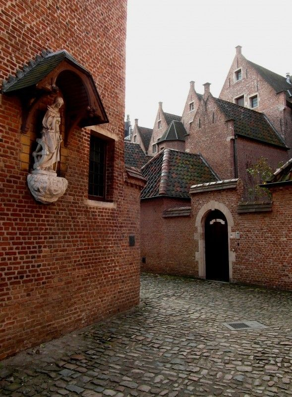 Begijnhof, Antwerp, Belgium