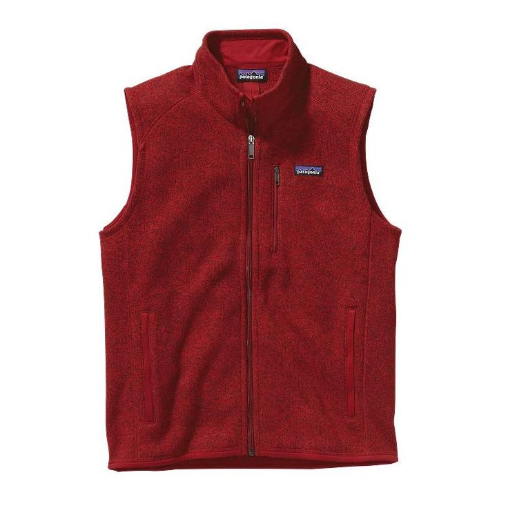 Men's Patagonia - Better Sweater Vest - Classic Red