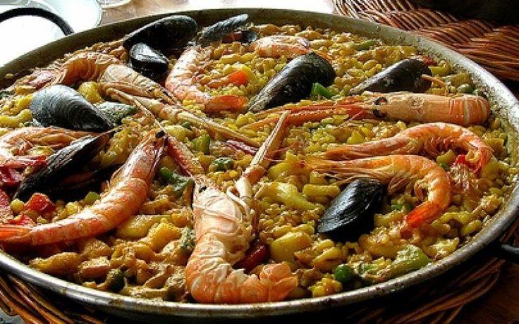 Paella à Valenciana #paella #valenciana #receita #frutosdomar #seafruit