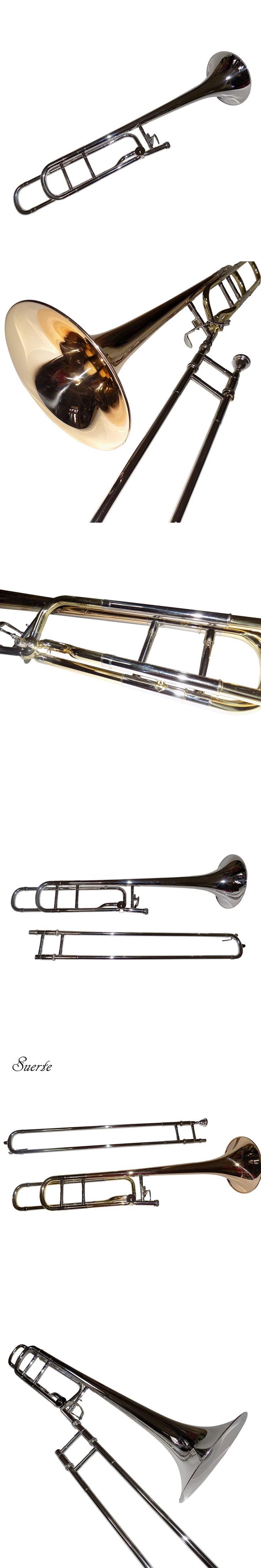 Professional Bb/F Tenor trombones Brass Body with Foambody case musical instruments online shop