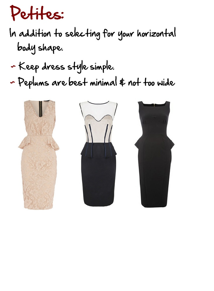 """Petites: Under 162.50 cms (5' 4""""), small bone structure, and under to slightly over weight.  www.myprivatestylist.com"""