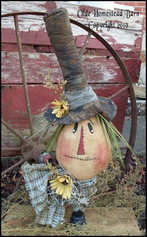 Primitive Scarecrow Makedo Lilith EPATTERN