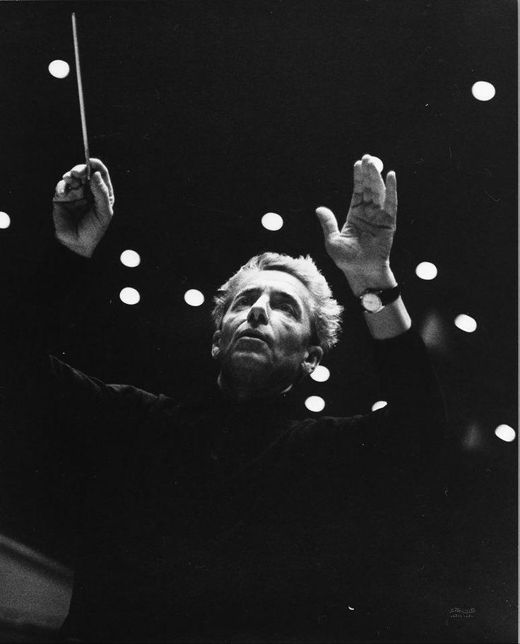 Herbert von #Karajan 1963 - Austrian conductor, 1908-1989