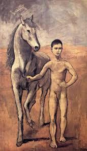 Ragazzo con cavallo, 1905 -1906, Pablo Picasso, olio su tela, Museum of Modern Art di New York.