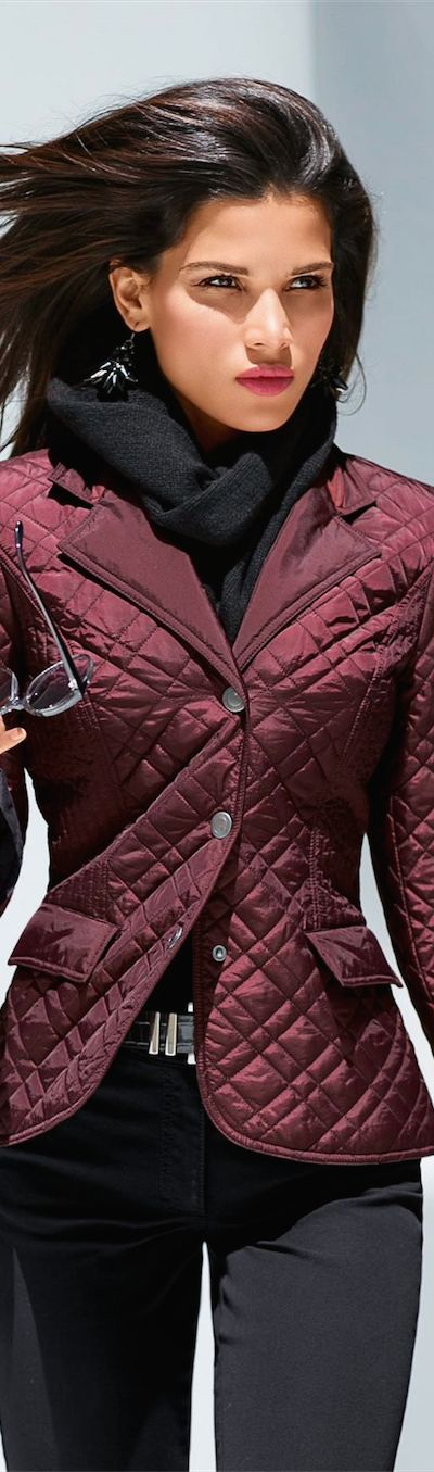 Madeleine Fall 2014 Quilted Jacket | The House of Beccaria~