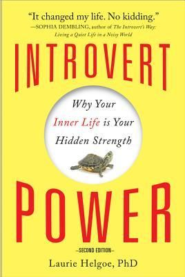My favorite introvert book. Susan Cain's gets all the notice and is fine, but is more about introversion in history and society. Laurie's is more about what it's like to actually be an introvert and how to deal in our extroverted society.