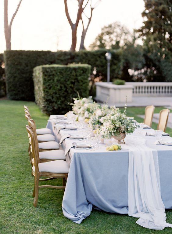 Стильные детали: тканевые раннеры для свадебного стола ...