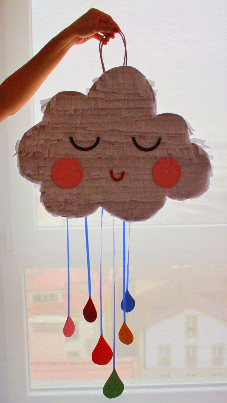 ... Y UN POCO DE DISEÑO: DIY: Cómo hacer una piñata (con una bolsa de papel)