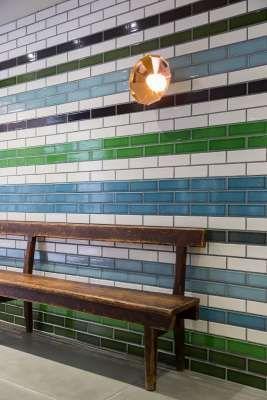 Pyrolave glazed bricks & tiles