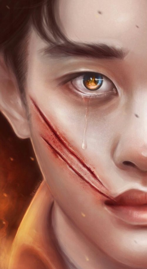 Immagine di exo, fanart, and korea