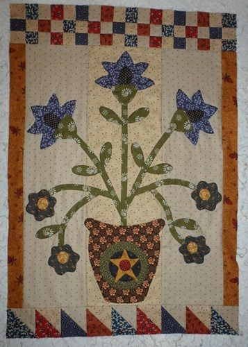 155 best images about applique quilts on pinterest for Tending the garden blackbird designs