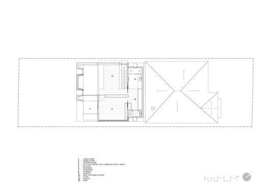 Glebe House,Second Floor Plan