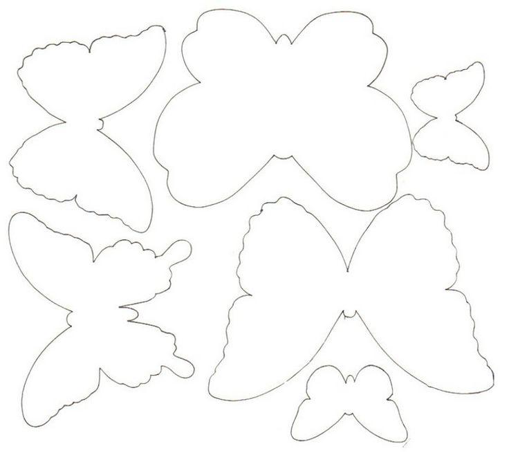 Niedlich Schmetterling Schablone Vorlage Ideen ...