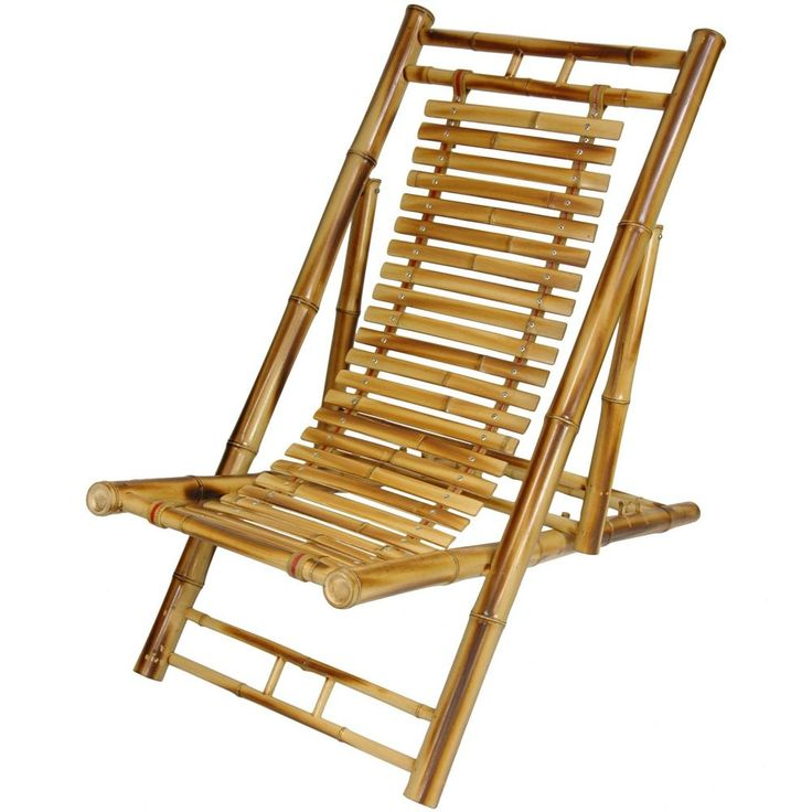 A unique Asian style rustic chair, a Japanese design alternative to the American Adirondack chair. It's a beautiful, practical piece, hand crafted from whole and split bamboo. Japanese Bamboo Folding Chair. | eBay!