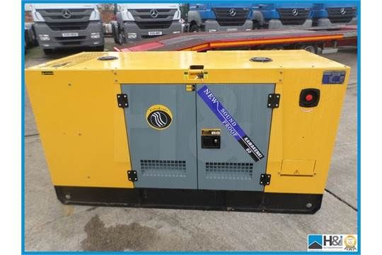 2016 new un-used high quality 60 kva silent generator , 3 phase, single phase output, saftey swit