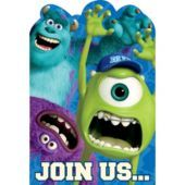 Monsters University Invitations 8ct - Party City