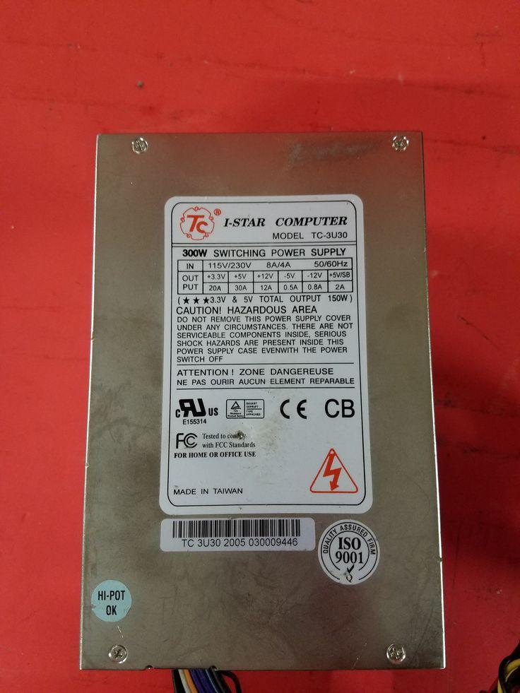 i-Star TC-3U30 Power : 300W power supply 24 pin