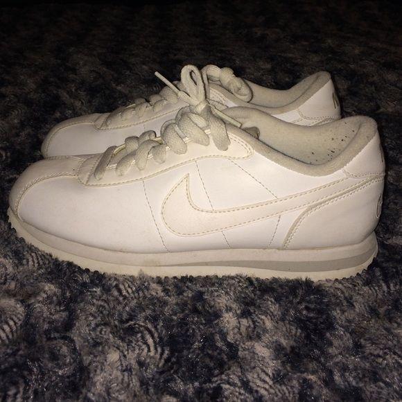 Nike Cortez White Nike Cortez size 4.5Y Nike Shoes